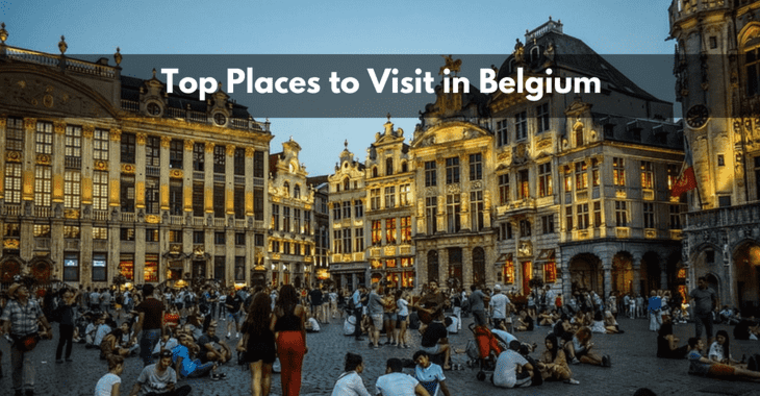 Large places to visit in belgium