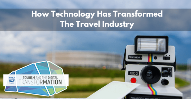 Large how technology has trasnformed tourism industry