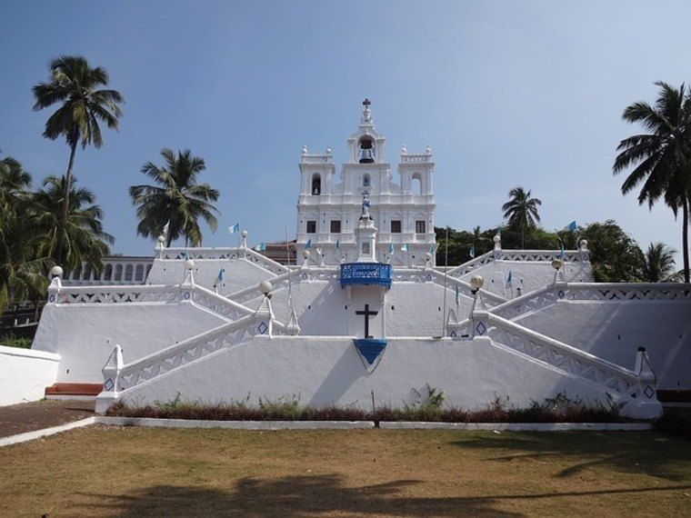 Large goa cathedral