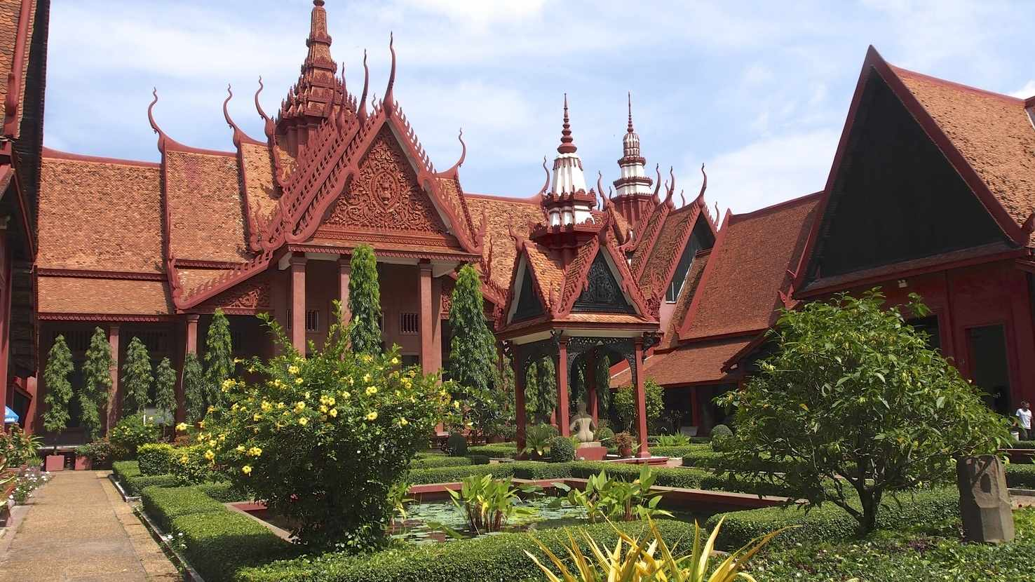 Large national museum of cambodia
