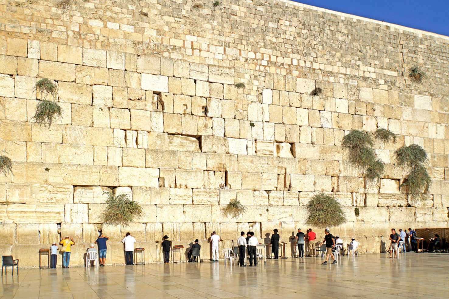 Large western wall