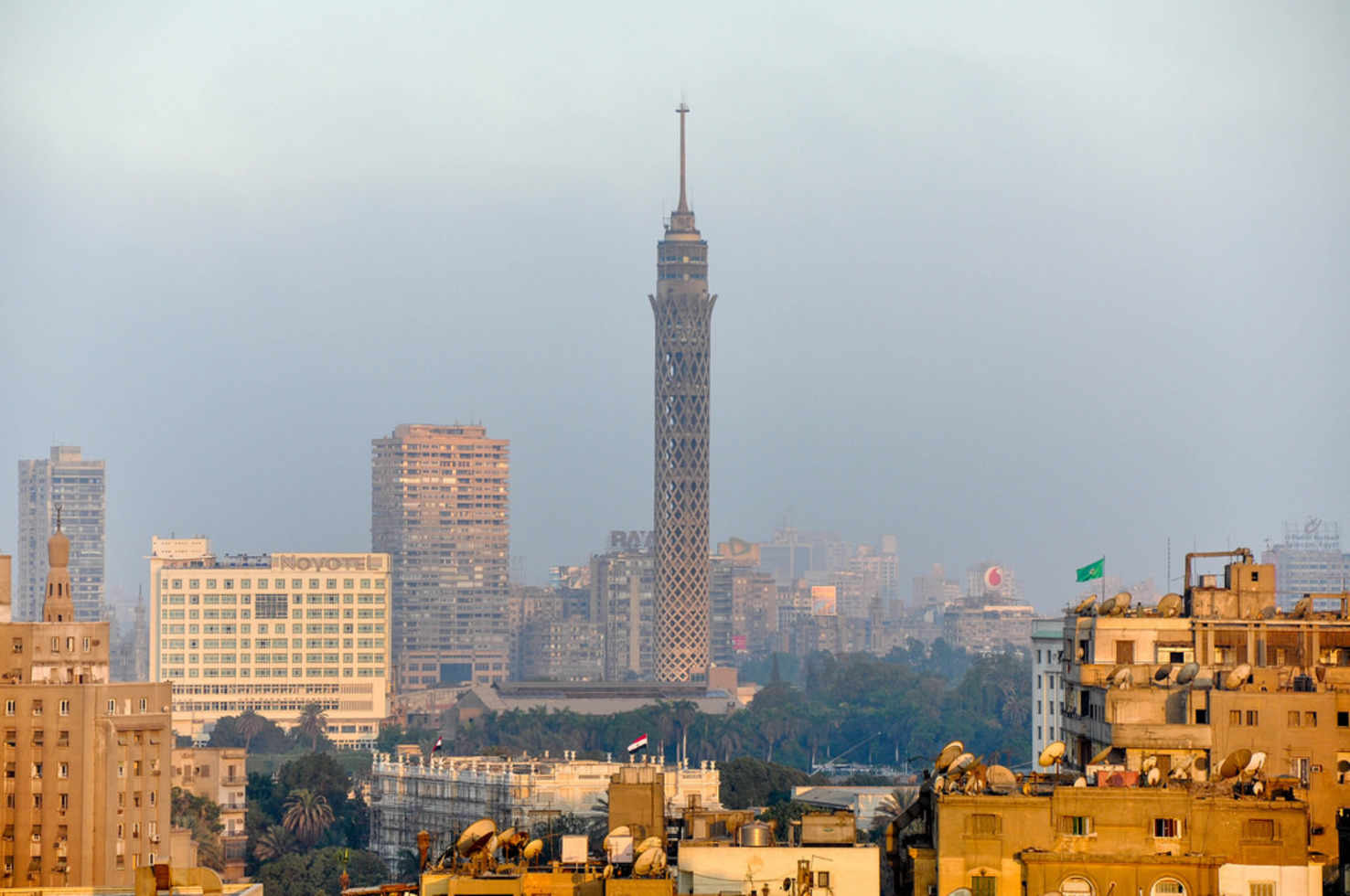 Large cairo tower