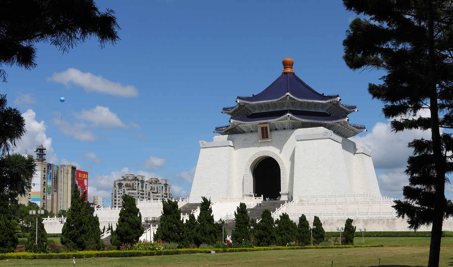 Large chiang kai shek memorial hall