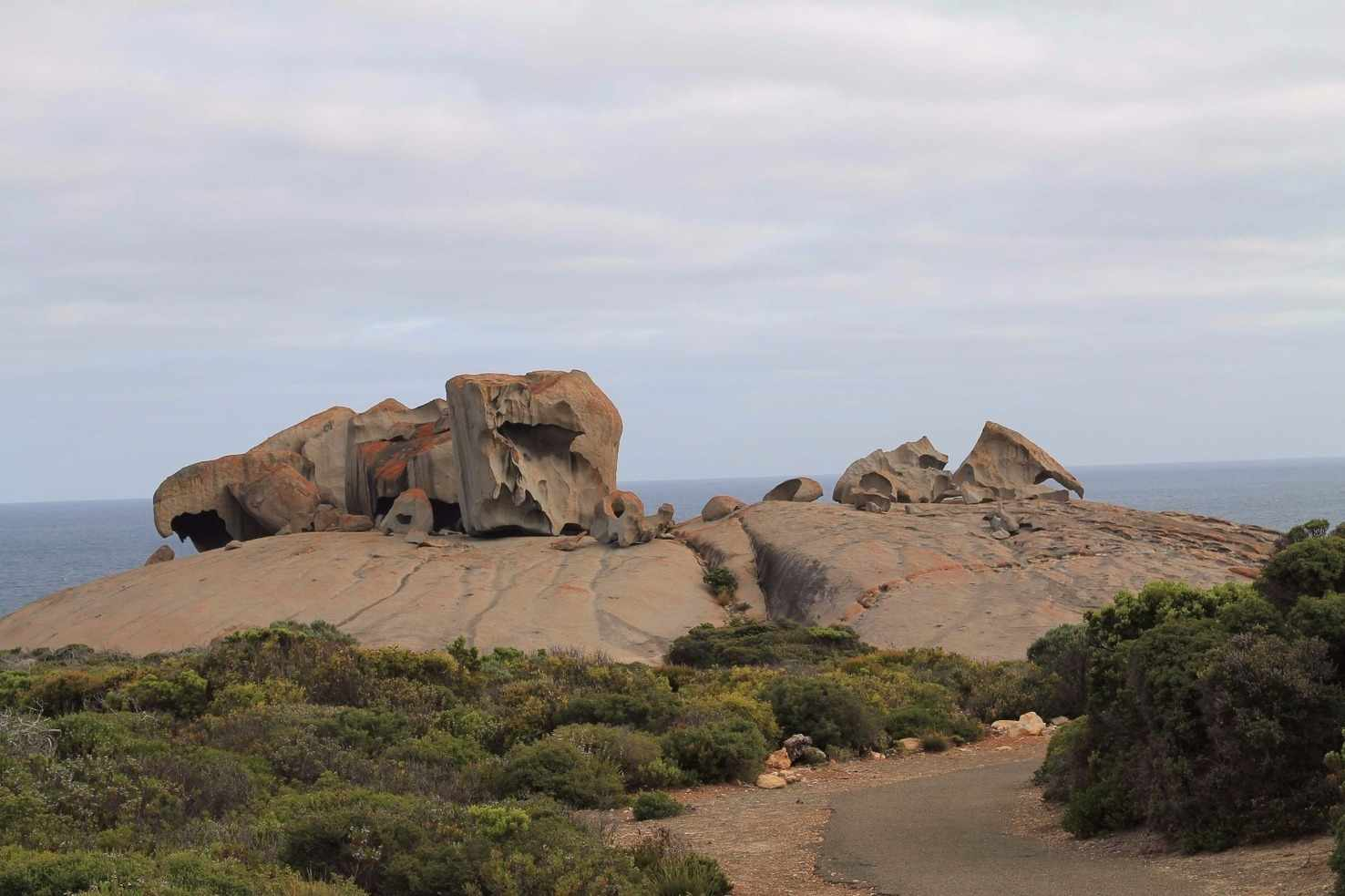 Large remarkable rocks kangaroo island south australia