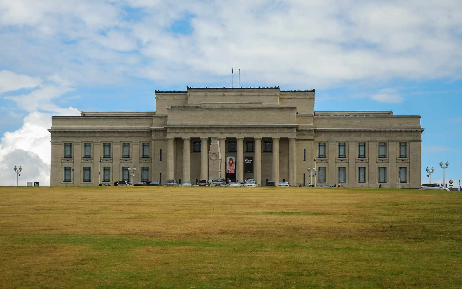 Large auckland war memorial