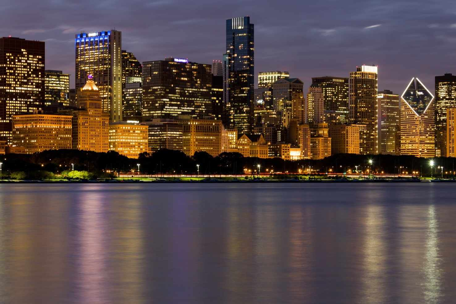 Large chicago skyline  2