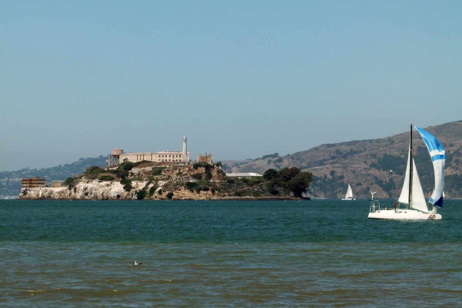 Large alcatraz island san francisco