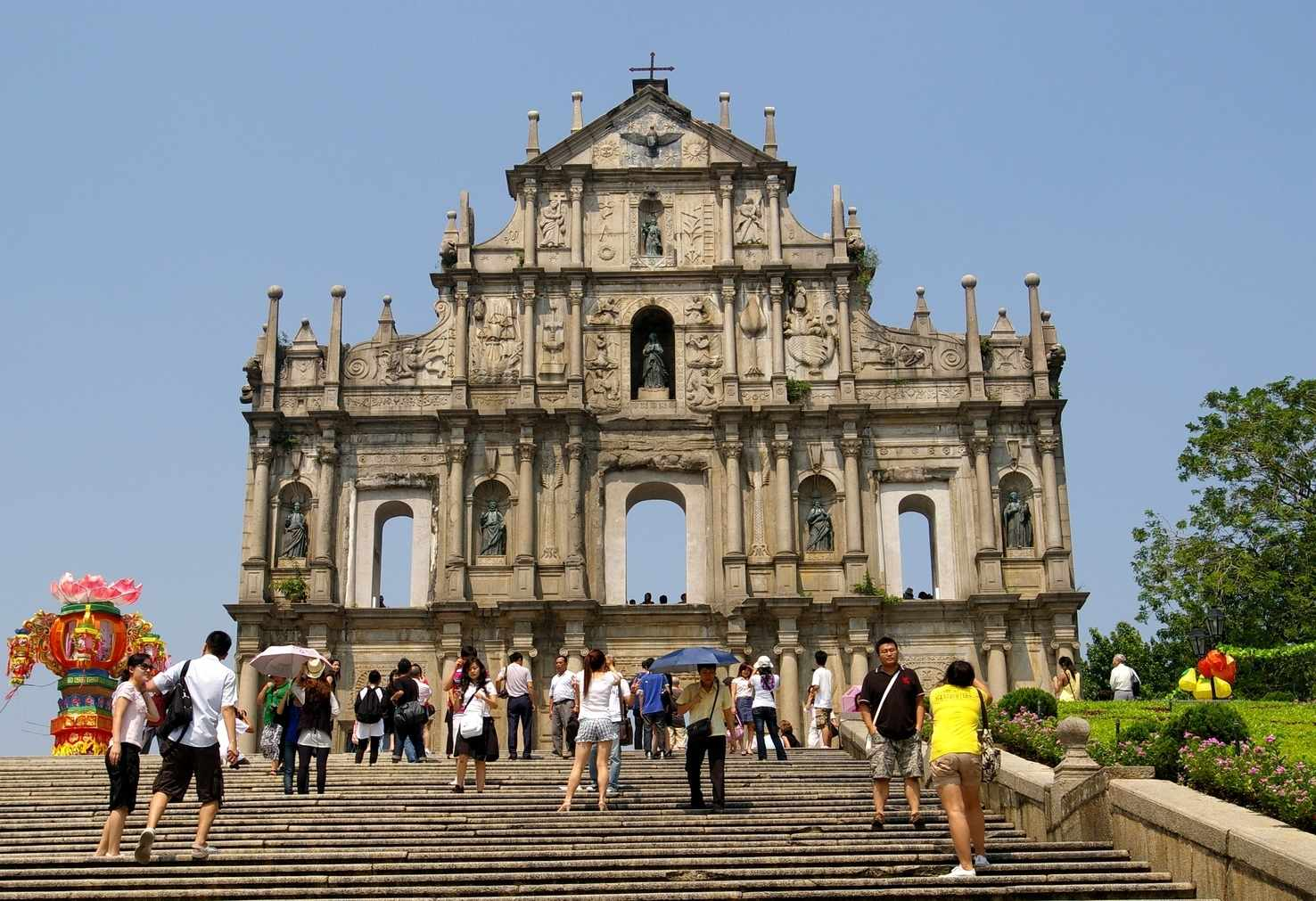 Large macau cathedral