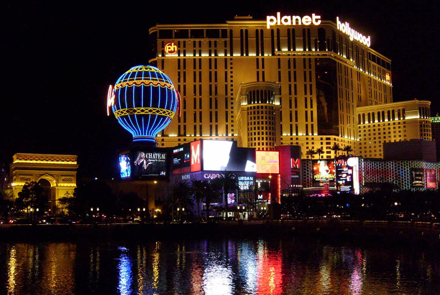 Large planet hollywood las vegas nv usa