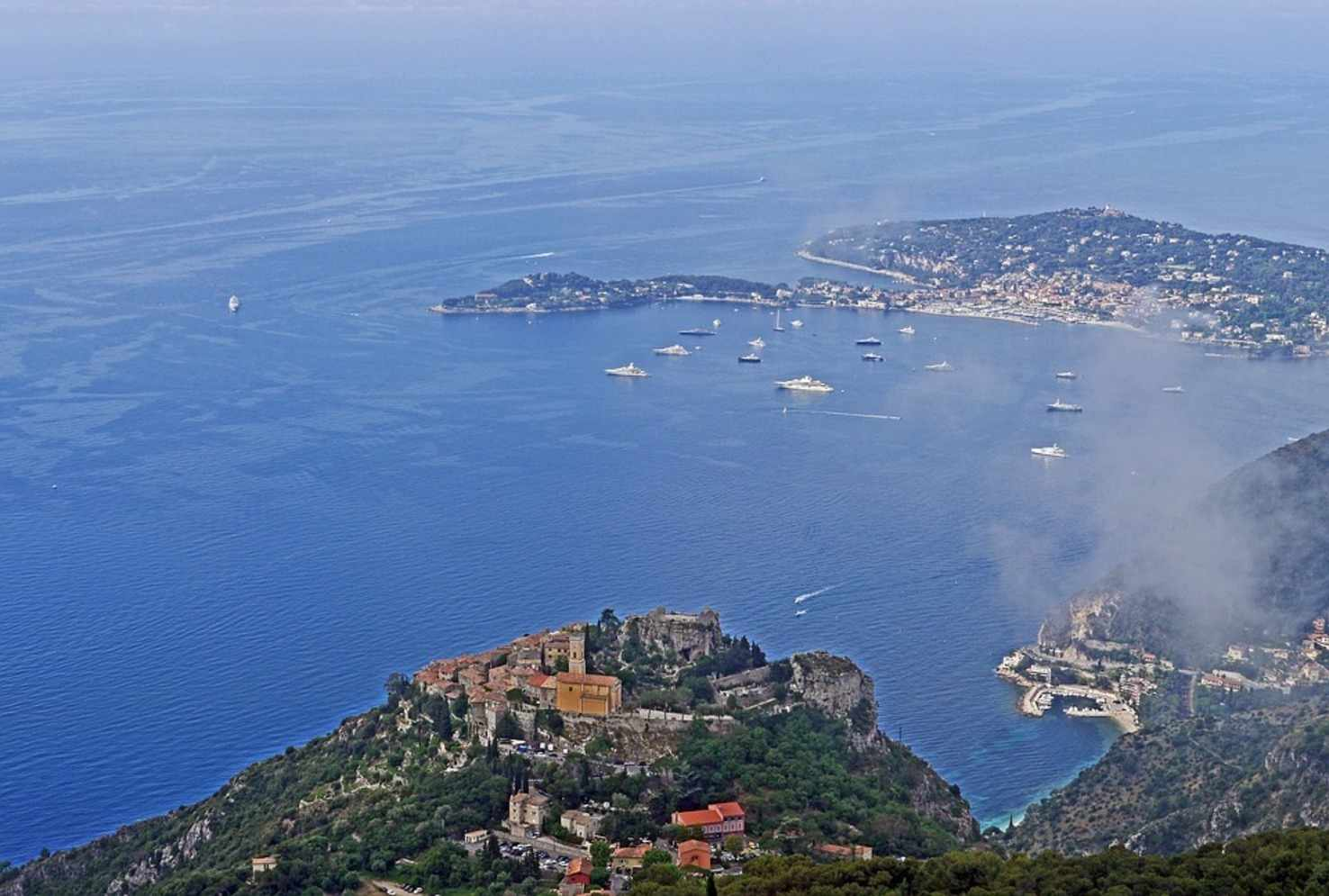 Large bay of eze