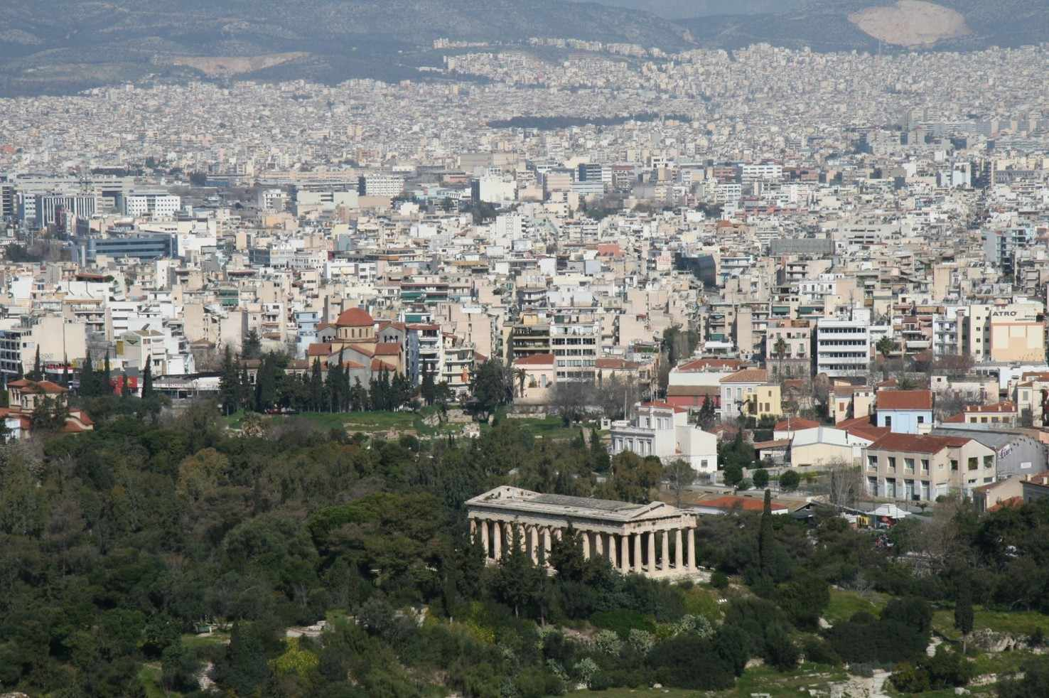 Large athens greece