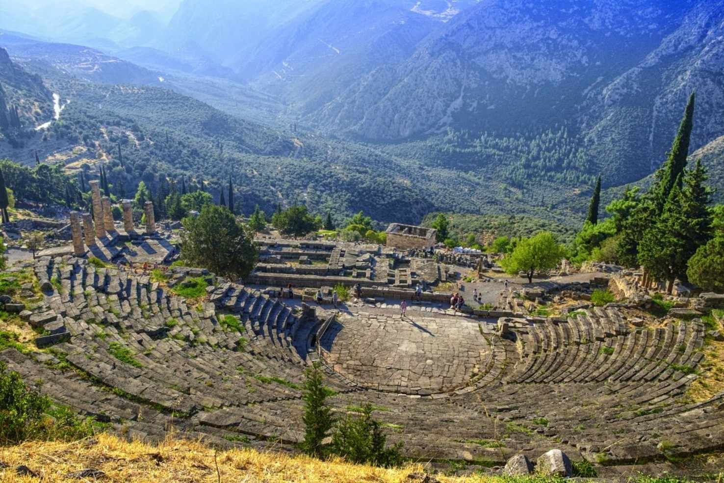 Large delphi greece