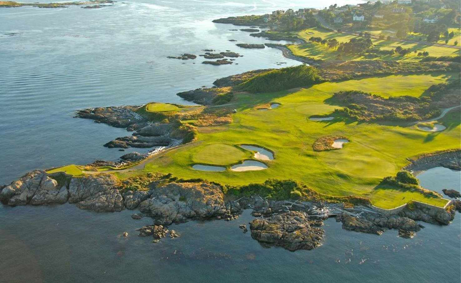 Large aerial view of the course   victoria golf club   victoria bc canada