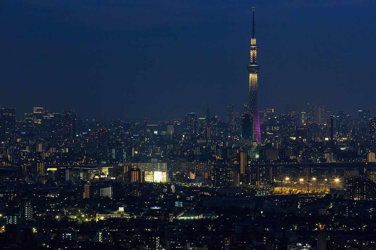 Large tokyo skytree tower