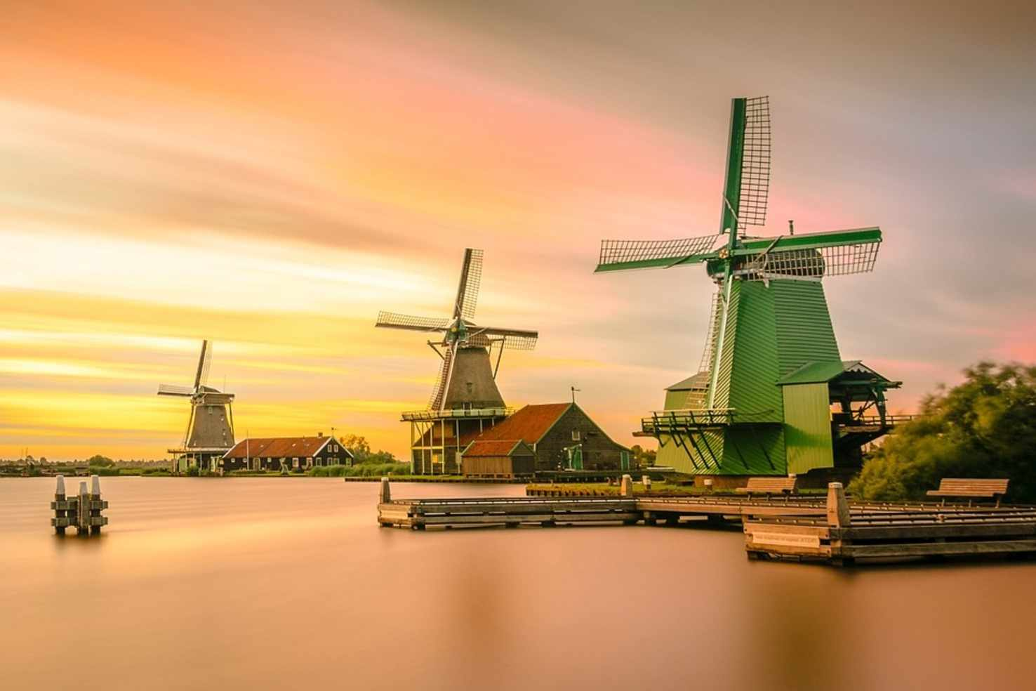 Colourful  Amsterdam Netherlands Tour Package