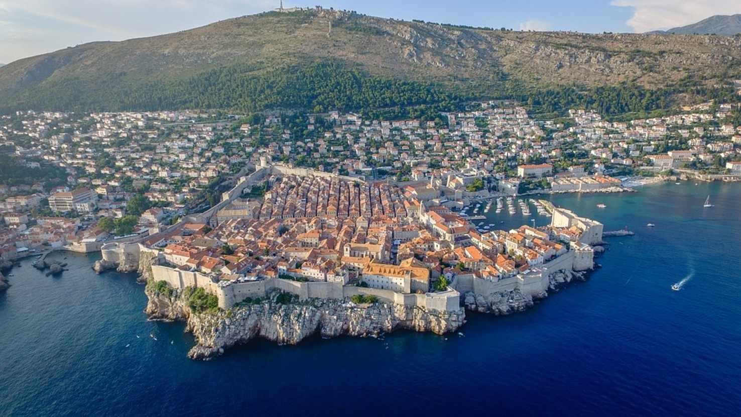 Large dubrovnik city