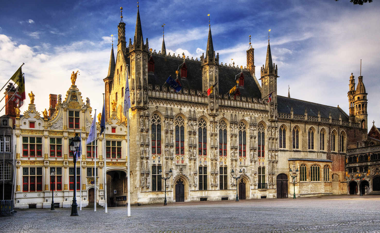 Large town hall brugge